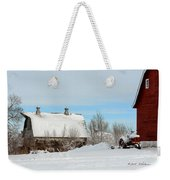 Snow Barns Weekender Tote Bag