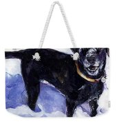 Snow Belle Weekender Tote Bag