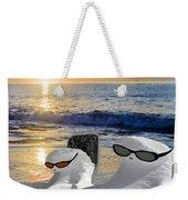Snow Bird Vacation Weekender Tote Bag
