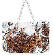 Snow Bonnet Weekender Tote Bag
