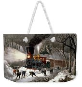 Snow Bound Weekender Tote Bag