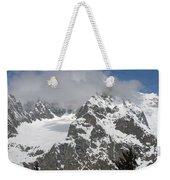 Snow Bowl In Italian Alps Weekender Tote Bag