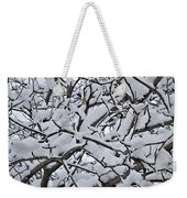 Snow Branches 2-1-15 Weekender Tote Bag