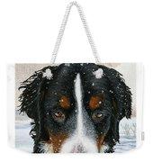 Snow Bumper Weekender Tote Bag