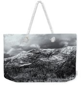 Snow Capped 45 Weekender Tote Bag