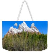 Snow-capped Weekender Tote Bag
