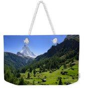 Snow-capped Matterhorn Weekender Tote Bag
