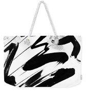 Snow-clad Mountain Weekender Tote Bag
