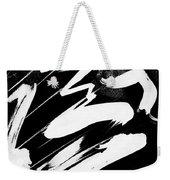 Snow-clad Mountain Inverted Weekender Tote Bag