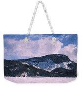 Snow Clouds - Winter - Ice Weekender Tote Bag