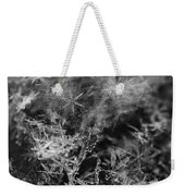 Snow Constellation Weekender Tote Bag by Rona Black