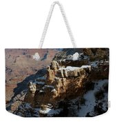 Snow Covered Grand Canyon Weekender Tote Bag