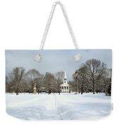 Snow Covered Guilford Weekender Tote Bag
