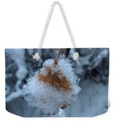 Snow Crystals Weekender Tote Bag