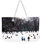 Snow Day - Fun Day Weekender Tote Bag