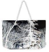 Snow Day Inverted Weekender Tote Bag