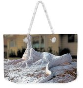 Snow Dragon Weekender Tote Bag