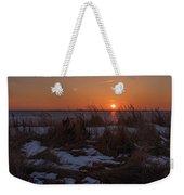 Snow Dune Sunset Seaside Park Nj Weekender Tote Bag
