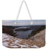 Snow Dunes Weekender Tote Bag