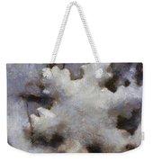 Snow Flake Enjoy The Beauty Photo Art Weekender Tote Bag