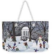 Snow Follies Weekender Tote Bag by Judy Joel