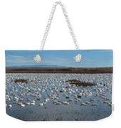 Snow Geese Bosque Weekender Tote Bag