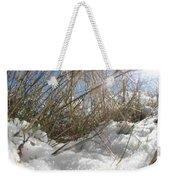 Snow Grass Weekender Tote Bag