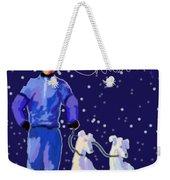 Snow Greys Weekender Tote Bag