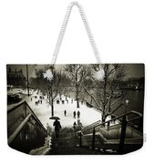Snow In London Weekender Tote Bag