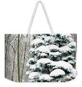 Snow In Ohio Weekender Tote Bag