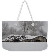 Snow In Plymouth Meeting Pa Weekender Tote Bag