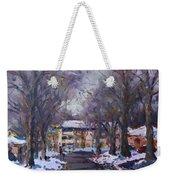 Snow In Silverado Dr Weekender Tote Bag
