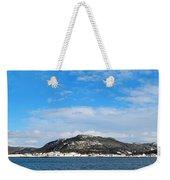 Snow In The Harbour Weekender Tote Bag