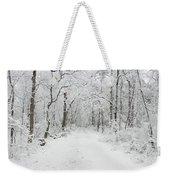 Snow In The Park Weekender Tote Bag