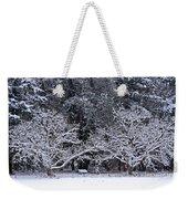 Snow In The Valley Weekender Tote Bag