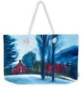 Snow In Vermont Weekender Tote Bag