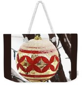 Snow Just In Time For Christmas Weekender Tote Bag