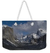 Snow Kissed Valley Weekender Tote Bag by Bill Gallagher