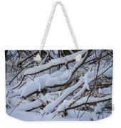 Snow Laden Weekender Tote Bag