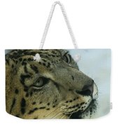 Snow Leopard 2 Weekender Tote Bag