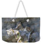 Snow Leopard    No.2 Weekender Tote Bag