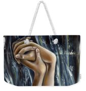 Snow Light Weekender Tote Bag