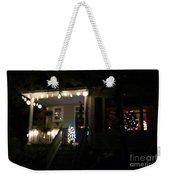 Snow Lights Weekender Tote Bag