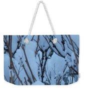 Snow Load Weekender Tote Bag