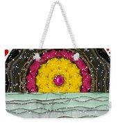 Snow Love Pop Art Weekender Tote Bag