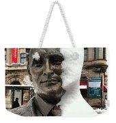 Snow Man Weekender Tote Bag