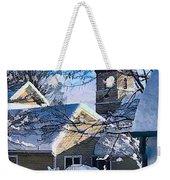 Snow On Back Alley - Shepherdstown Weekender Tote Bag