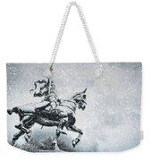 Snow On Joan Weekender Tote Bag