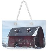 Snow On Roof Weekender Tote Bag