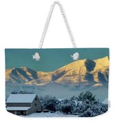 Snow On Utah Mountains Weekender Tote Bag